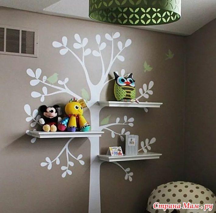 Оформление комнаты интересные идеи