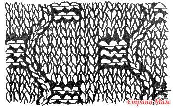 """. Замечательное пособие """"Самоучитель по вязанию"""". Продолжение. Урок 23. Ажурные узоры  (окончание)"""