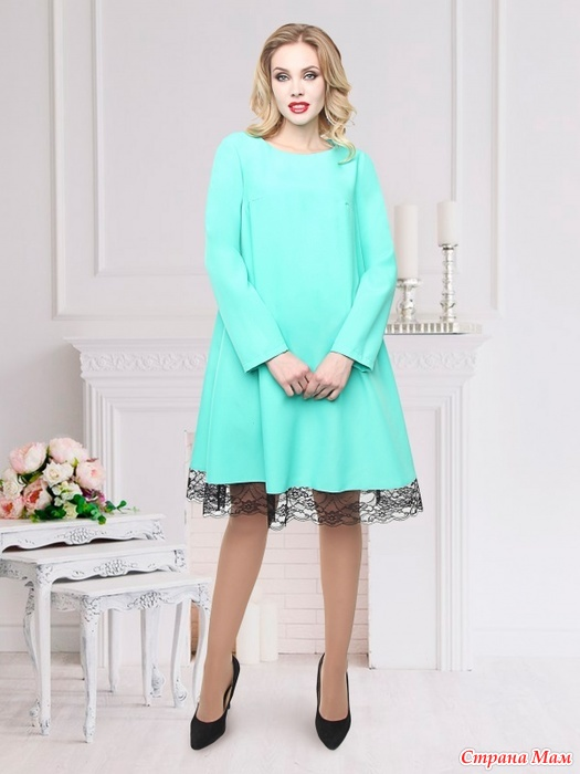 Женские платья реклама