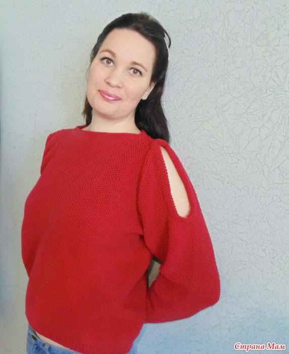 Вязание регланом для девушек спицами