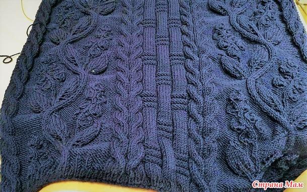 """. Пуловер """"Кельтская цветочная лоза"""""""