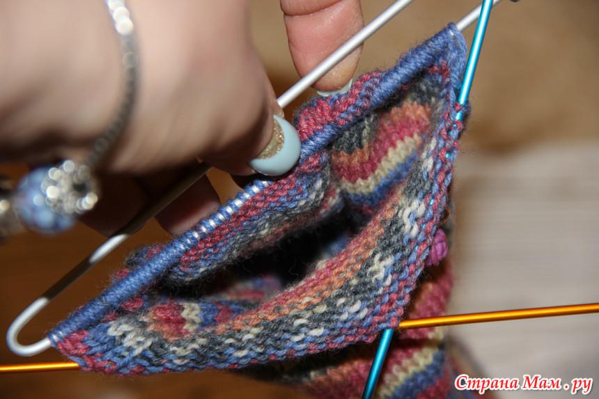 经典模式的针织袜子 - maomao - 我随心动