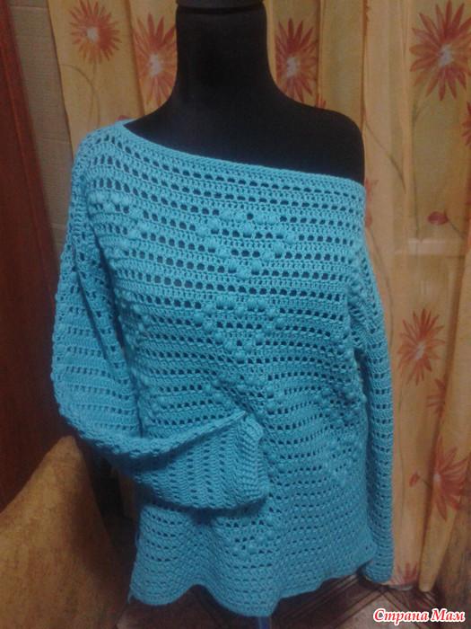 Весенний пуловер