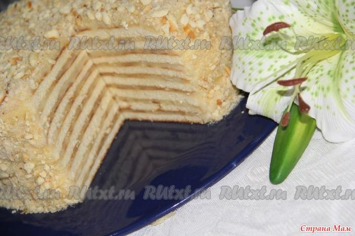 Торт на сковороде без сгущенки рецепт с пошаговым фото