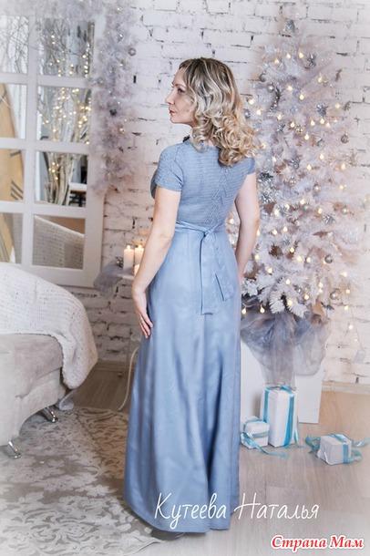 """Комбинированное платье... или платье - """"переделка""""))"""