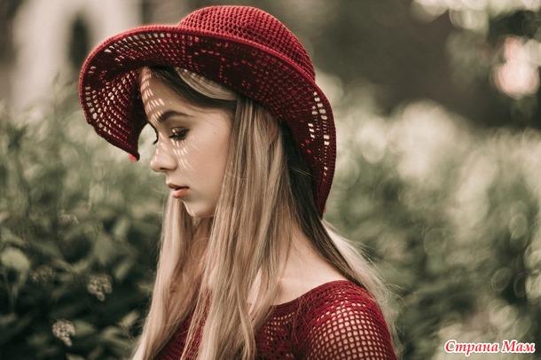 """Lady in Red"" филейное платье"