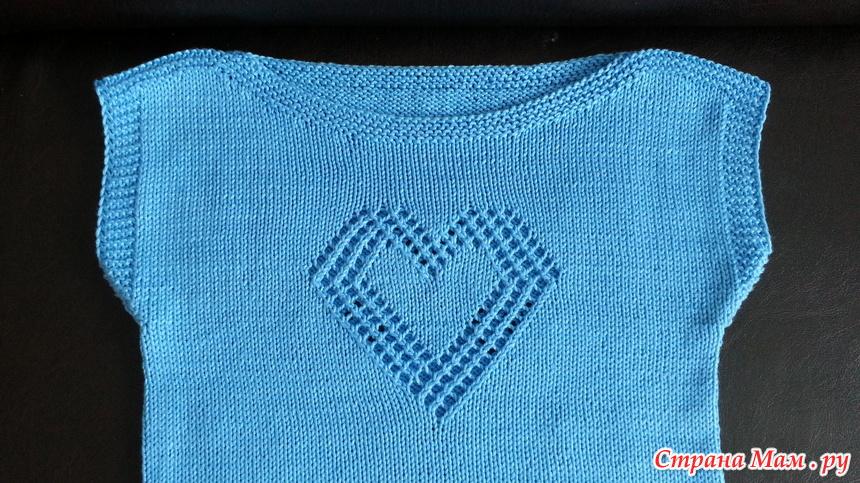 """针织""""心""""背心 - maomao - 我随心动"""