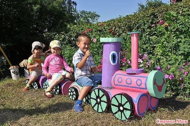 Интересные идеи для детской площадки