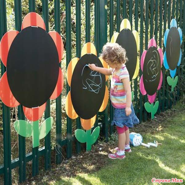 Детские площадки детского сада своими руками фото