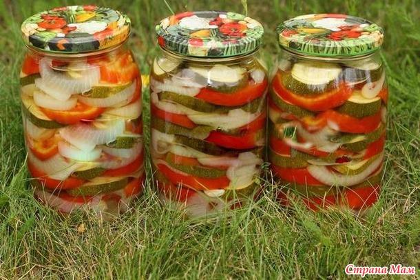 Рецепты заготовок на зиму салата из огурцов