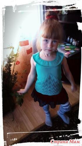 """""""夏季风暴""""(用叶子)可以是上衣也可以是裙子 - maomao - 我随心动"""