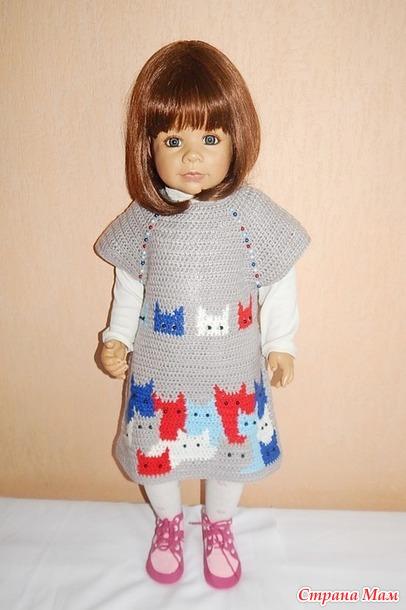 女孩的猫咪束腰裙 - maomao - 我随心动