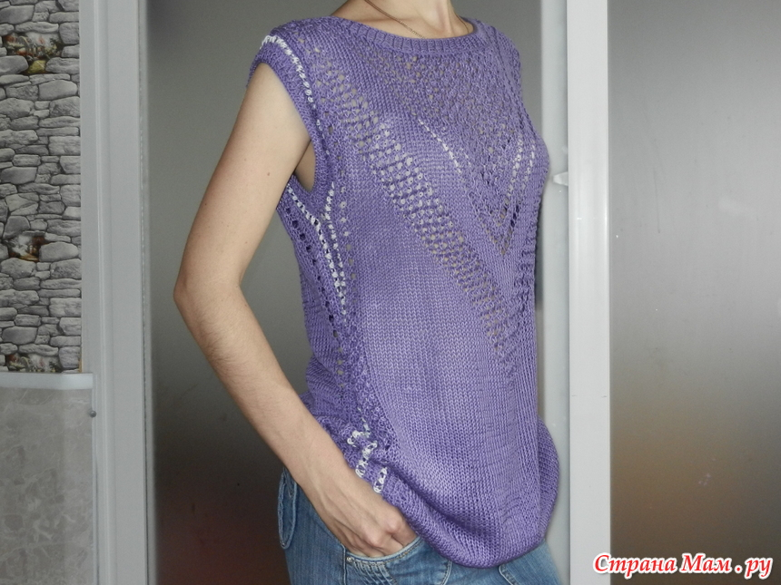 针织紫色外衣 - maomao - 我随心动