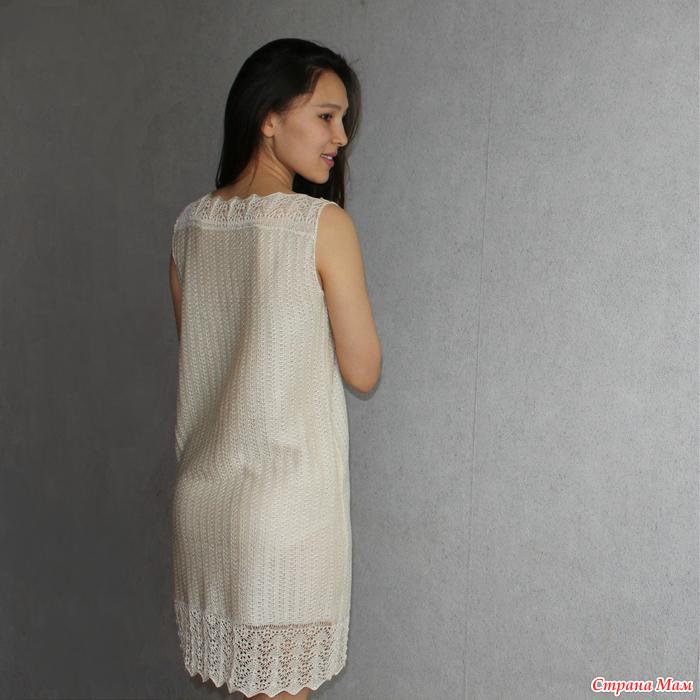 Крючок летние платья от горловины