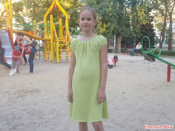 "Летний ажурный сарафан ""Тропик"""