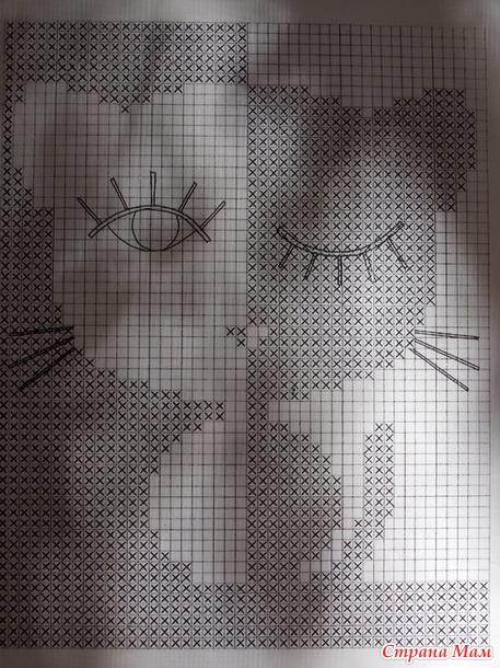 Схема маечки из Пехорки льняной.