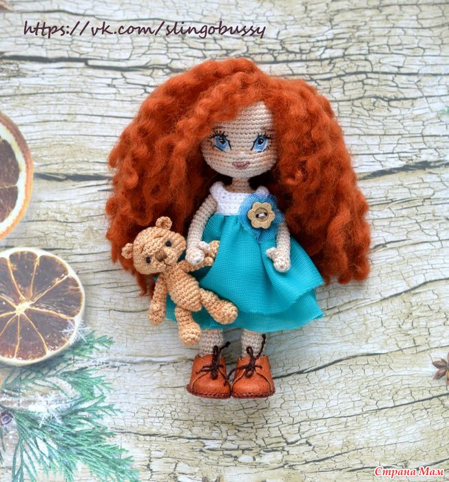 Амигуруми куколка мастер класс 134
