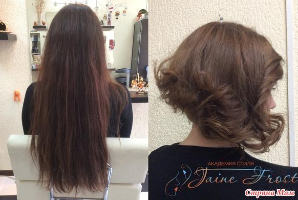 Длинные неухоженные волосы
