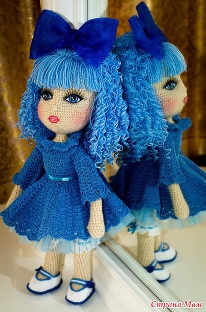 Связать куколку видео 176