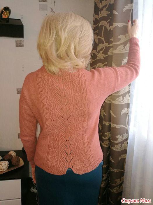 针织毛衣(后背图案) - maomao - 我随心动