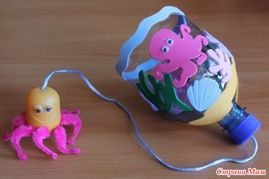 Как сделать игрушки из подручных материалов своими руками