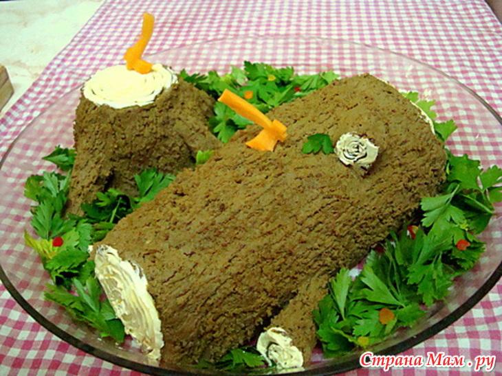 печеночный паштет из печени рецепты с фото