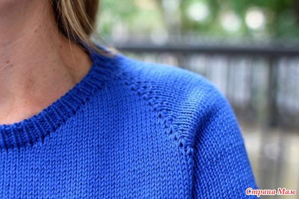Пуловер  Michigan by Amy Miller описание стырнечено