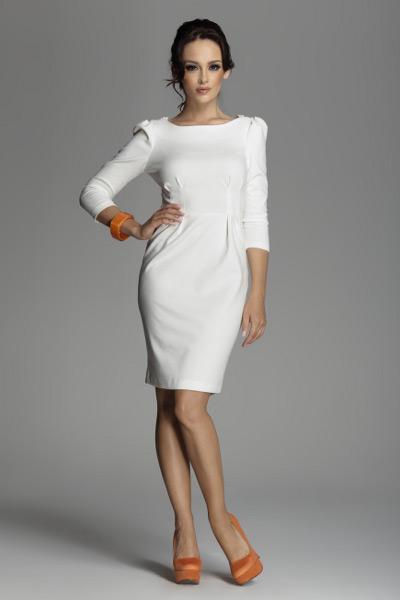 Белые платья модели