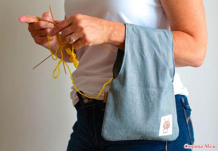 Сумка для крючков для вязания
