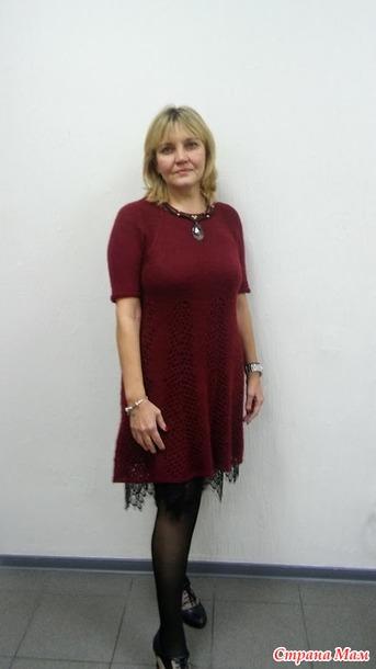 . Платье из Ангора РАМ