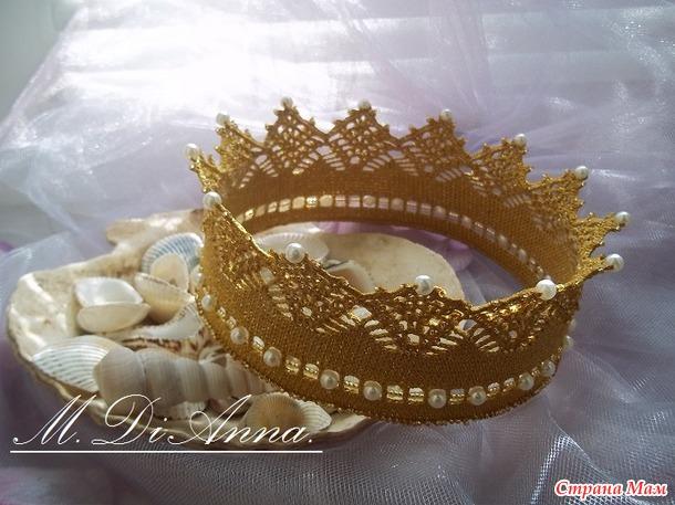 . Короны крючком для наших принцесс и принцев