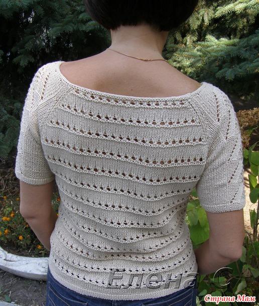 夏天的针织套衫 - maomao - 我随心动