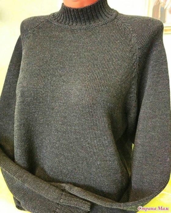 73Машинное вязание свитеров
