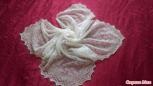 . Вязаный платок