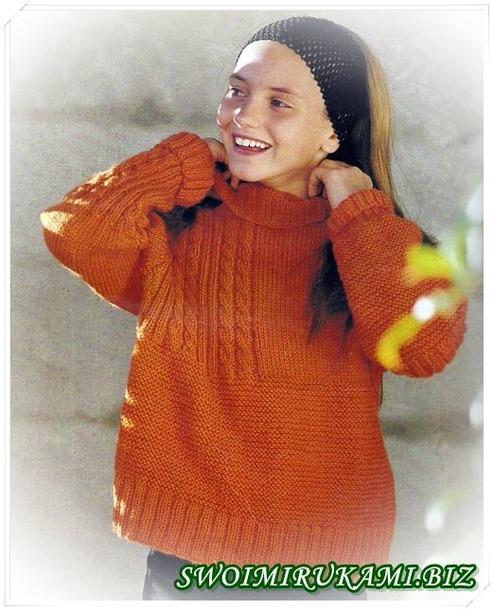 Выкройки для вязания девочкам (пальто, кардиганы, джемперы).