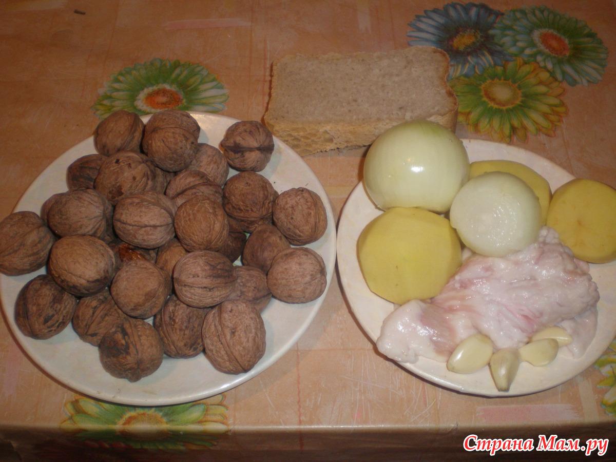 Ореховые котлеты – рецепт