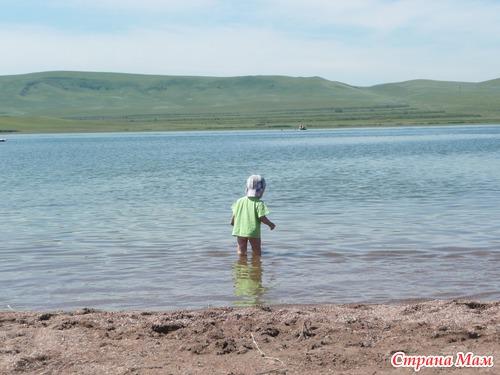 Были на озерах в Хакасии - хвастаюсь