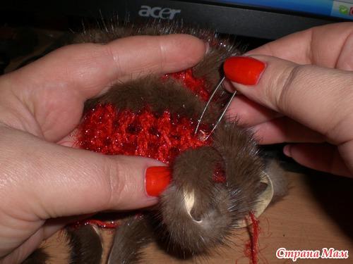 Мех, вязание