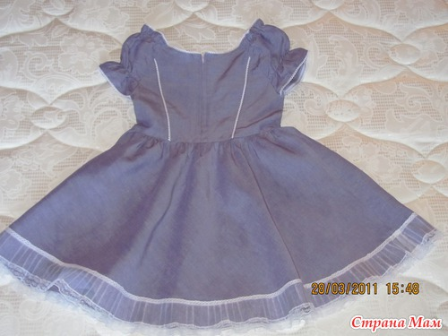 Шьём летнее платье для девочки
