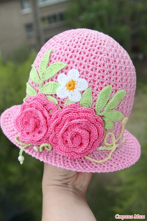 Розовые шляпки для девочек-красоток)