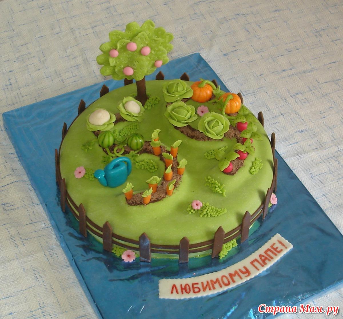 тех торт для садовода фото этом говорит один