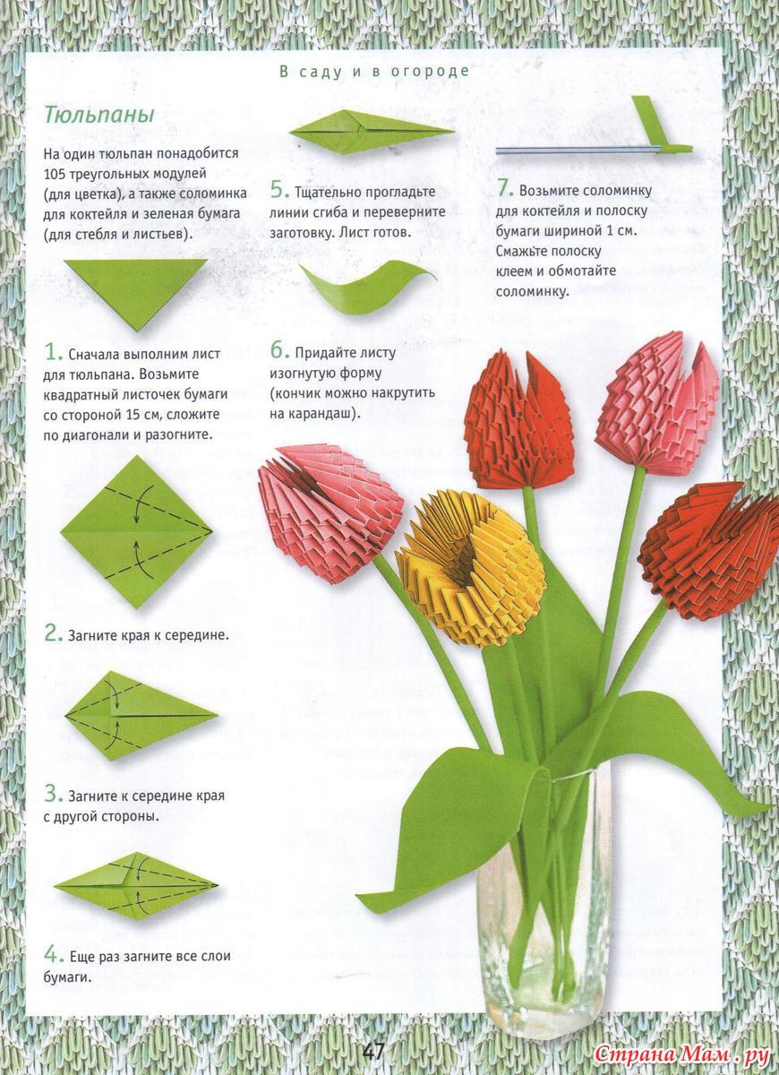ели модульное оригами схемы с картинками будут