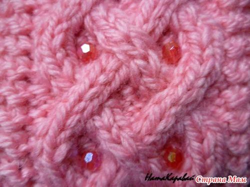. Шапка и шарф для дочки.