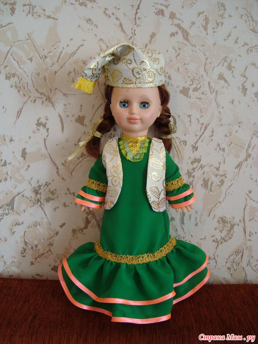 6.8 Собираем русский народный костюм для куклы 63
