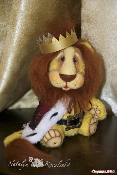Игрушка лев своими руками фото 131