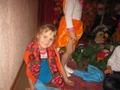 Детский сад: Кристина в роли Бабули на Празднике Осени