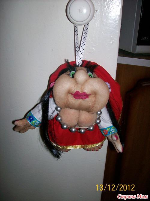 Кукла на удачу(братишке в подарок)