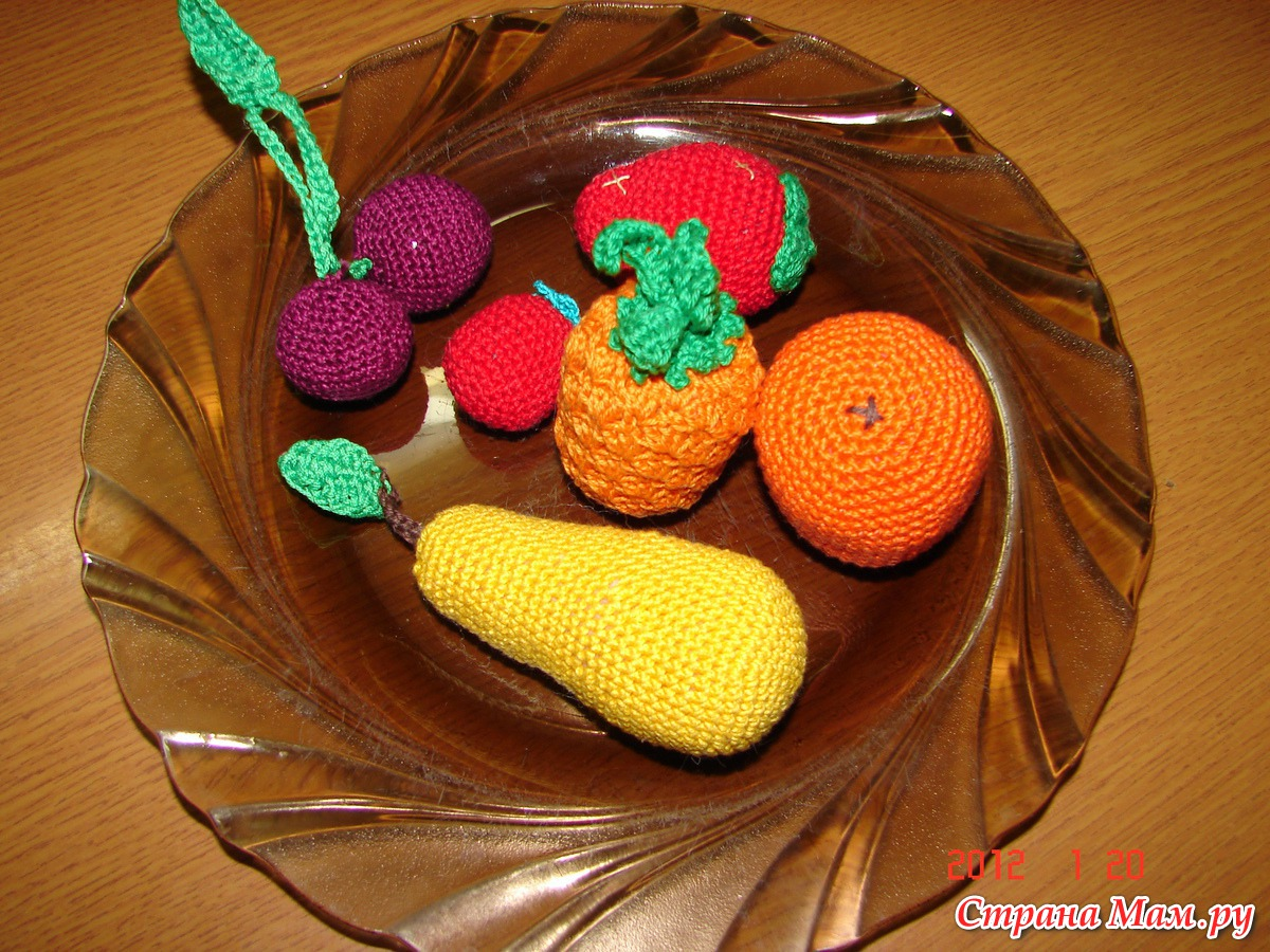 Развивающие игрушки для детей - Вязание - Страна Мам