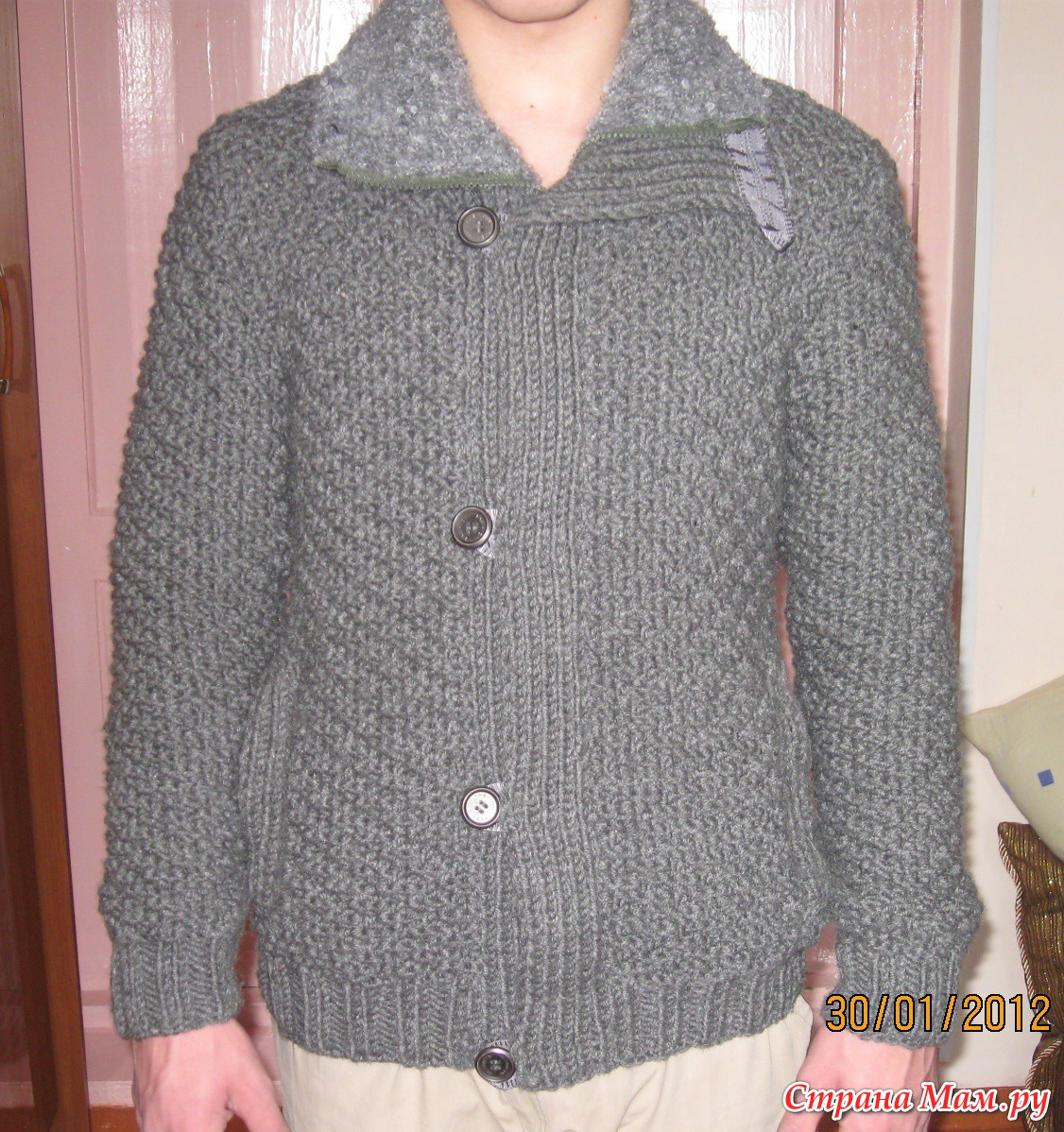 Куртка мужская. - Вязание - Страна Мам