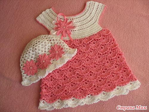 Давайте свяжем детское платье